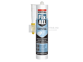 Galeco (Soudal) Fix-All Crystal ragasztó 125 ml