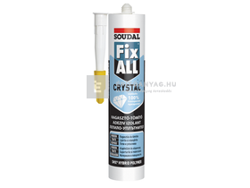 Soudal Fix-All Crystal Ragasztó transzparens 290 ml